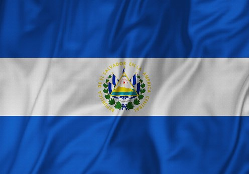 Flag of the Republic of El Salvador