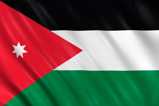Flag of the Hashemite Kingdom of Jordan
