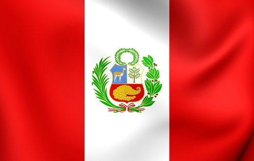 Flag of the Republic of Peru