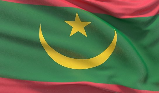 Flag of the Islamic Republic of Mauritania