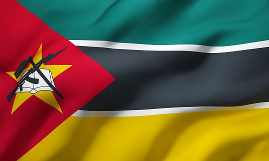 Flag of the Republic of Mozambique