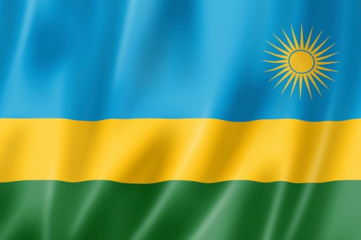 Flag of the Republic of Rwanda