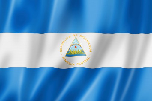 Flag of the Republic of Nicaragua