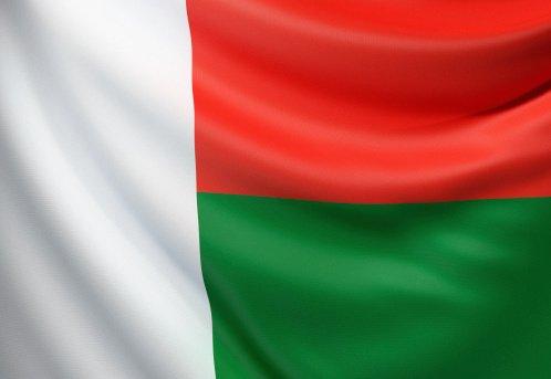 Flag of the Republic of Madagascar