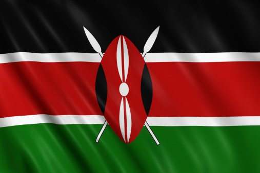Flag of the Republic of Kenya
