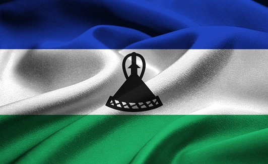 Flag of the Kingdom of Lesotho