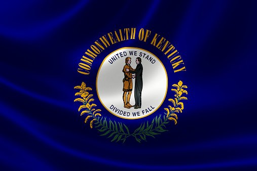 Flag of Kentucky State of United States