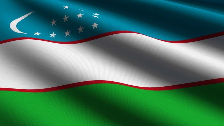 Flag of the Republic of Uzbekistan