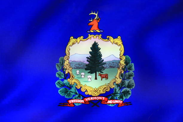 Flag of Vermont state