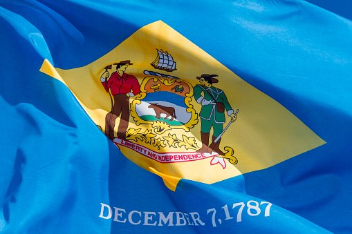 Flag of Delaware State