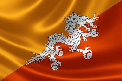 Flag of the Kingdom of Bhutan