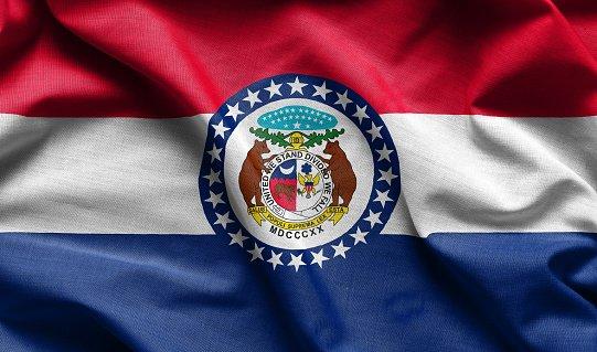 Flag of Missouri state