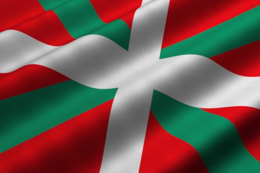 Flag of Basque Country, Spain