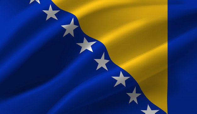 Flag of the Bosnia and Herzegovina