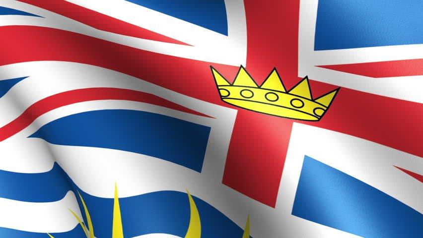 Flag of British Columbia Province