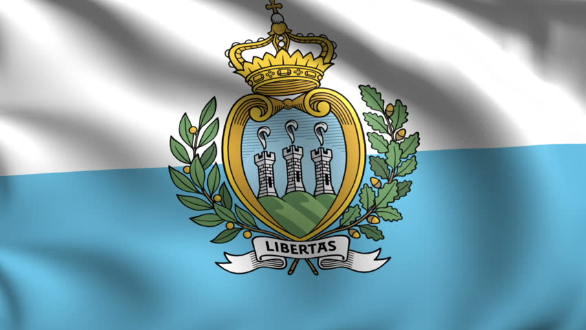 Flag of The Republic of San Marino