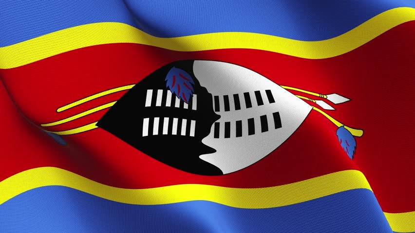 Flag of the Kingdom of Eswatini (Swaziland)