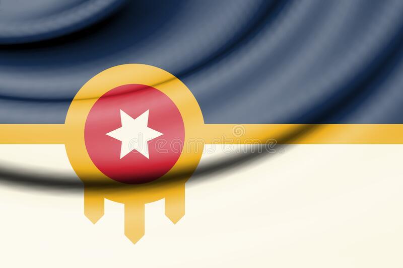 Flag of Tulsa city