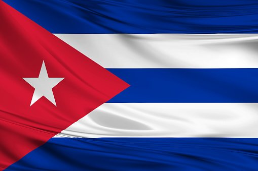 Flag of the Republic of Cuba