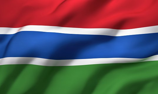 Flag of the Republic of Gambia
