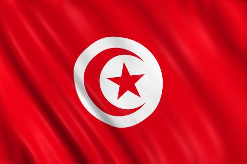 Flag of the Republic of Tunisia