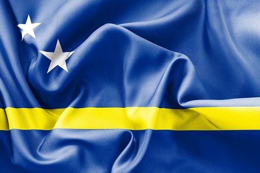 Flag of Curaçao island country