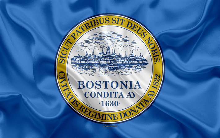 Flag of Boston city
