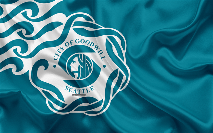 Flag of Seattle city