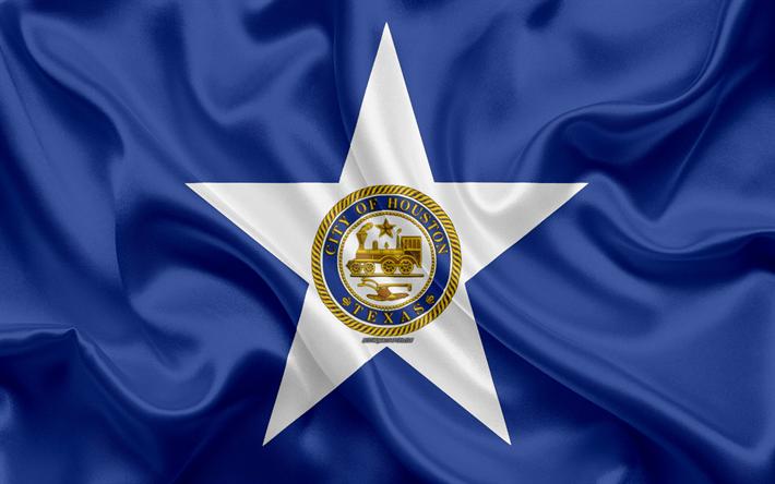 Flag of Houston city, Texas