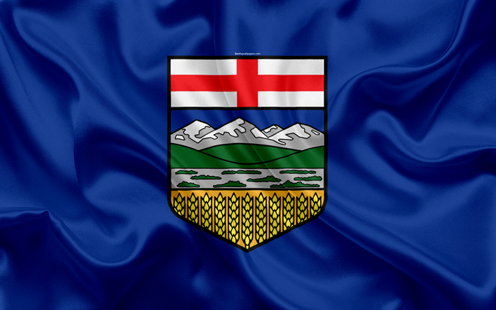 Flag of Alberta province, Canada