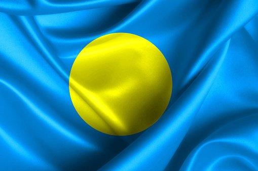 Flag of the Republic of Palau